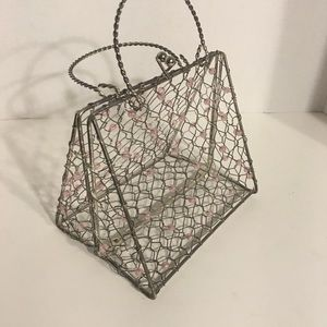 Neat Wire Purse Trinket Holder!